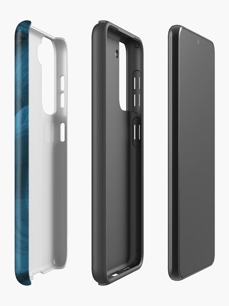 Alternate view of Bluish Black Hole Case & Skin for Samsung Galaxy