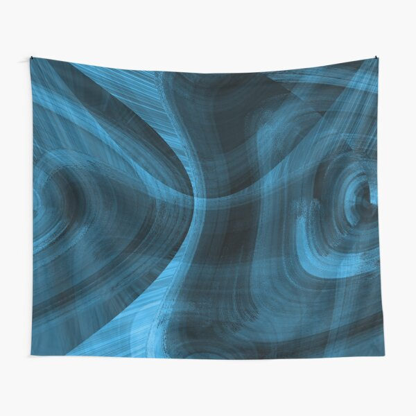 Bluish Black Hole Tapestry