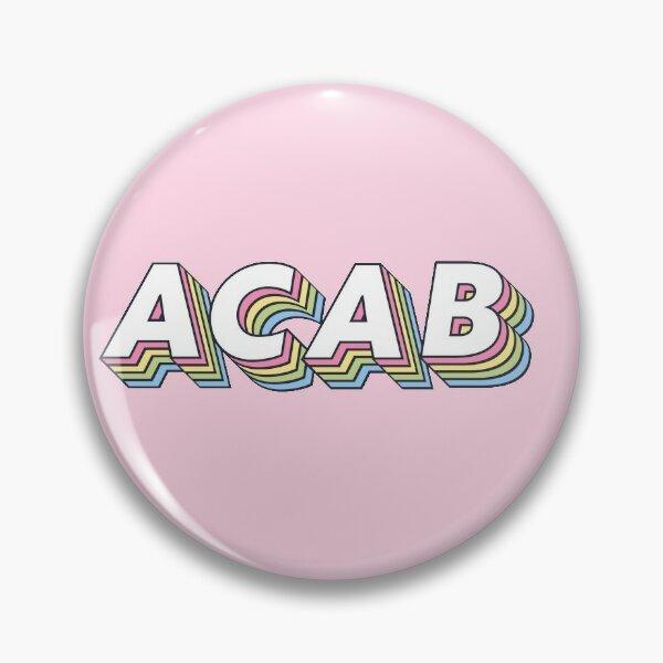 ACAB rainbow Pin