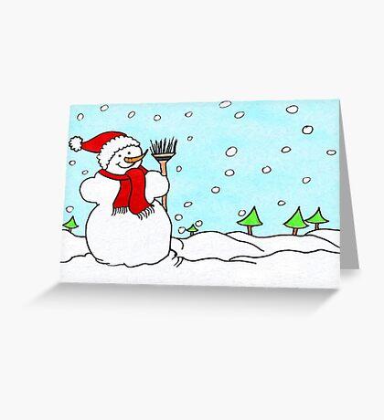 Snowman Fun!  Greeting Card