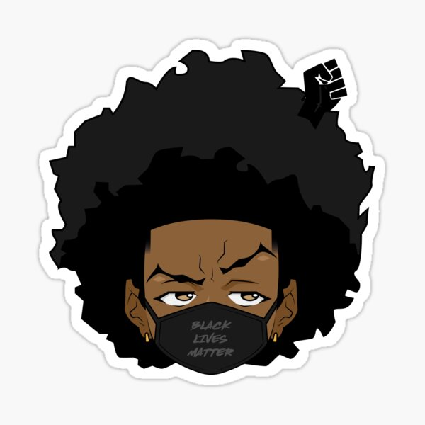 BLACK LIVES MATTER 3 Sticker