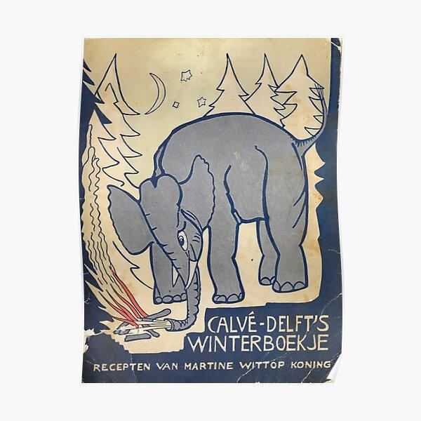 Calvé-Delft's Winterboekje - The Glow Pt. 2 - The Microphones / Mount Eerie Poster