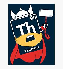 THORIUM Photographic Print