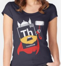 THORIUM Women's Fitted Scoop T-Shirt