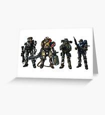 Halo Reach Greeting Card