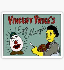 Vincent Price's Egg Magic Sticker