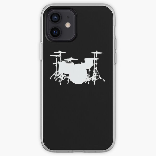 Drumset Drums Drummer Percusion Drumkit Musician iPhone Soft Case