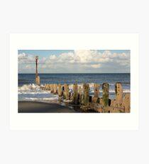 Mundesley Beach IV, Norfolk, England Art Print