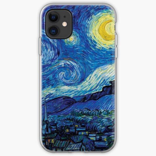 Vincent Van Gogh - Starry Night iPhone Soft Case