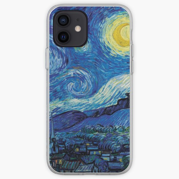 Vincent Van Gogh - Sternennacht iPhone Flexible Hülle