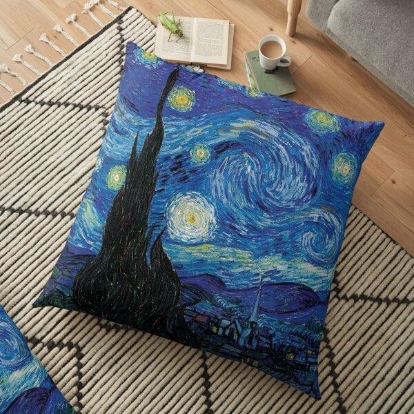 Vincent Van Gogh - Starry Night Floor Pillow