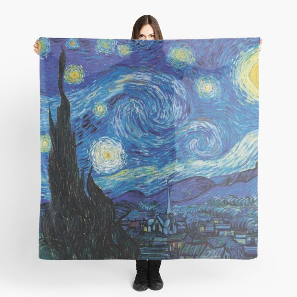 Vincent Van Gogh - Starry Night Scarf