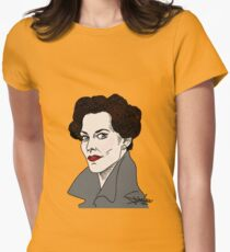 Miss Adler: Brainy/Sexy Womens Fitted T-Shirt