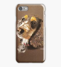 Kizzy the multi-coloured Cocker Spaniel iPhone Case/Skin