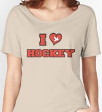 I Love Hockey Women's Relaxed Fit T-Shirt
