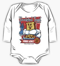 Powdered Toast Crunch One Piece - Long Sleeve