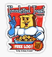 Powdered Toast Crunch Sticker