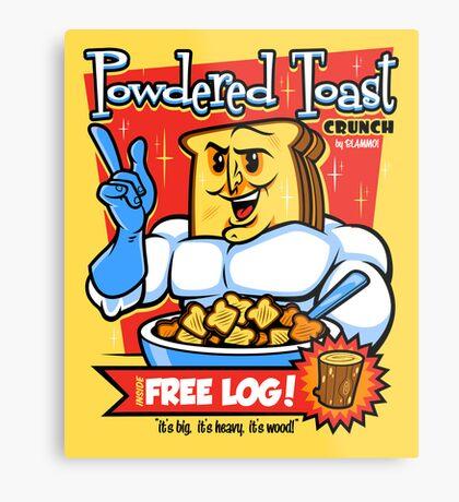 Powdered Toast Crunch Metal Print