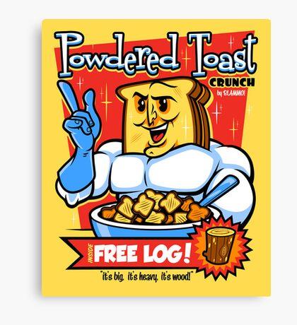Powdered Toast Crunch Canvas Print