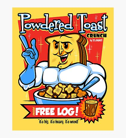 Powdered Toast Crunch Photographic Print