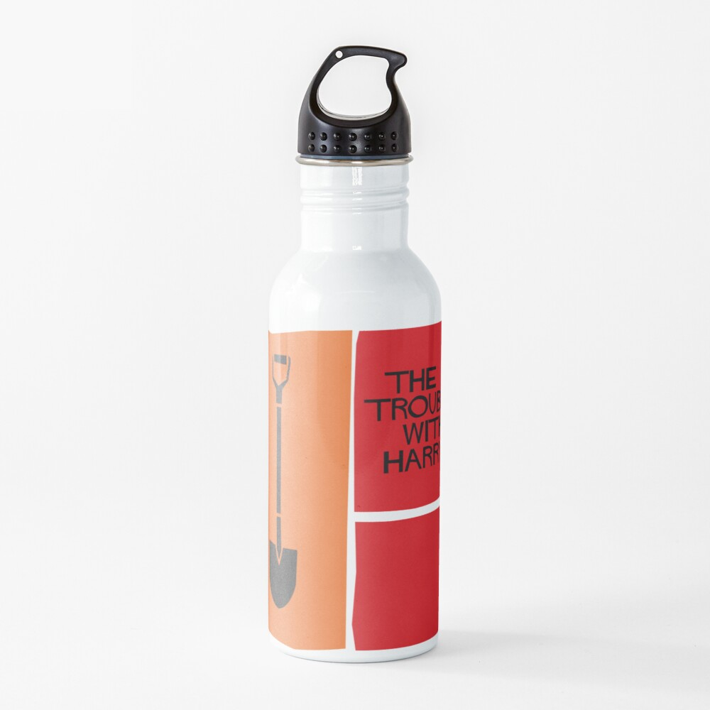 The Trouble With Harry. Hitchcock  Water Bottle