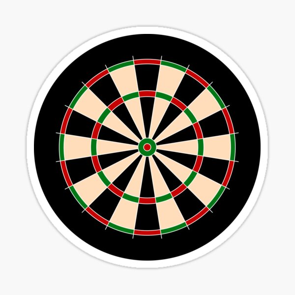 NDVH Dartboard Sticker