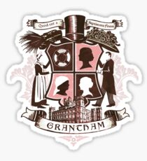 Grantham coat of arms (pink) Sticker