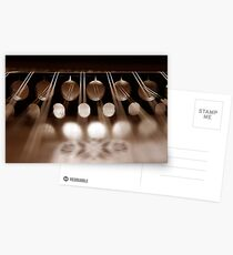 Hammered Dulcimer From A Different Angle Postcards