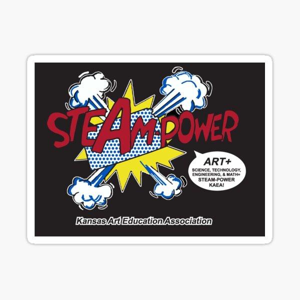 STEAM Power KAEA Sticker
