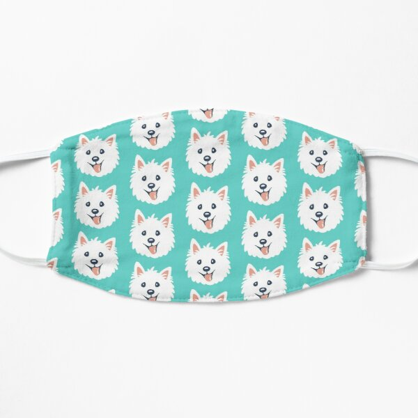 Westie Puppy Pattern Mask
