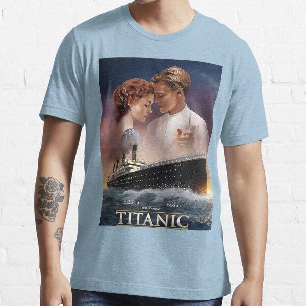 Titanic James Cameron Jack DiCaprio Rose Kate Winslet T-shirt essentiel