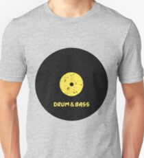 Drum & Bass (Vinyl) Unisex T-Shirt