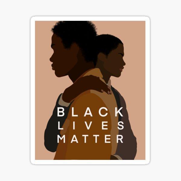 BLACK LIVES MATTER (boys)  Sticker