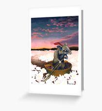 Tarjeta de felicitación El último viaje de Reepicheep (desde Narnia)