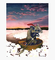 Reepicheep's Last Voyage (From Narnia) Photographic Print