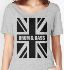DRUM AND BASS UK Women's Relaxed Fit T-Shirt