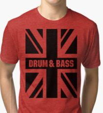 DRUM AND BASS UK Tri-blend T-Shirt