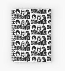 sleater kinney riot grrrl punk design Spiral Notebook