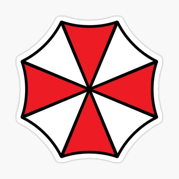 Resident Evil Inspired Umbrella Corporation Productos Versión 2 Pegatina