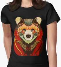 The Bear Women's Fitted T-Shirt