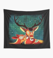 My Dear Deer Wall Tapestry