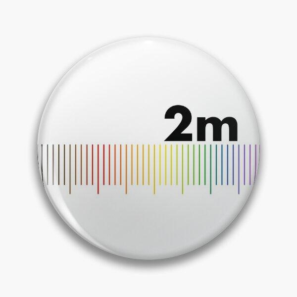 Rainbow 2m Apart  Pin