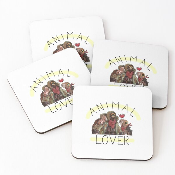 Animal Lover Coasters (Set of 4)