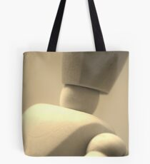 Wooden man Tote Bag