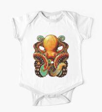 the octopus Baby Body Kurzarm