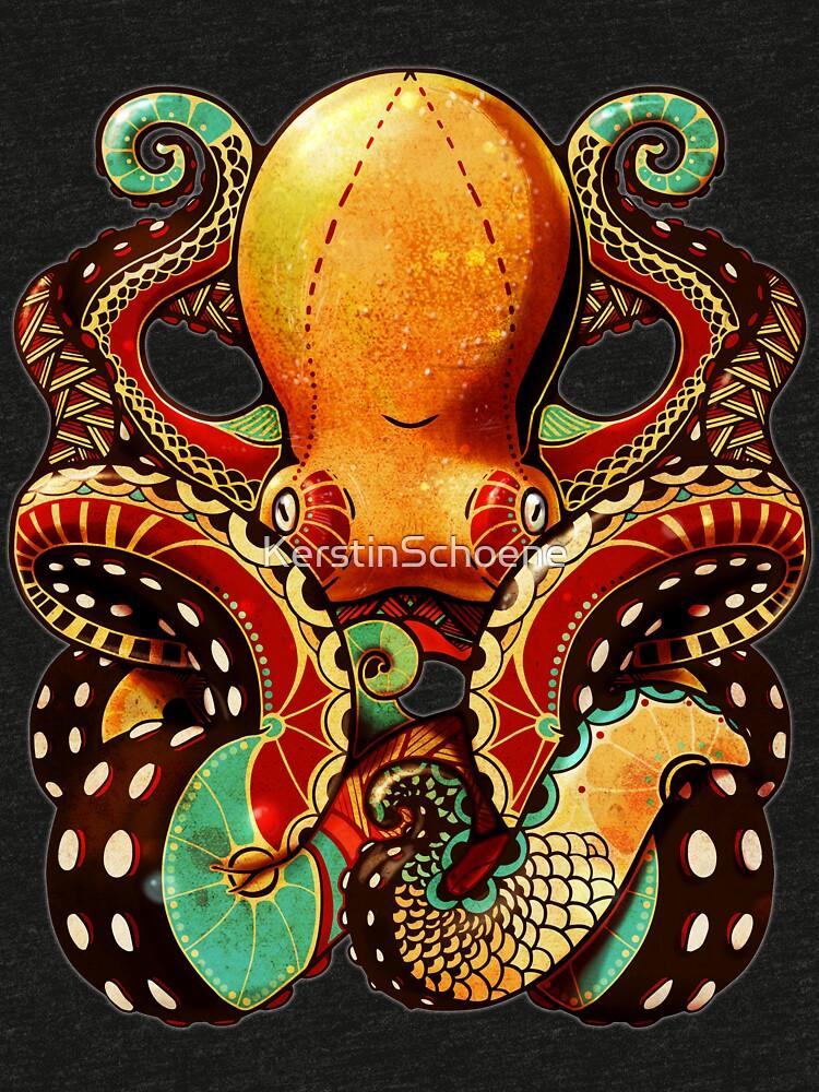 the octopus von KerstinSchoene