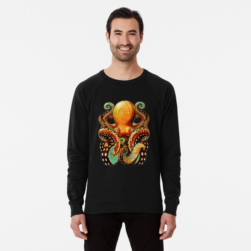 the octopus Leichter Pullover