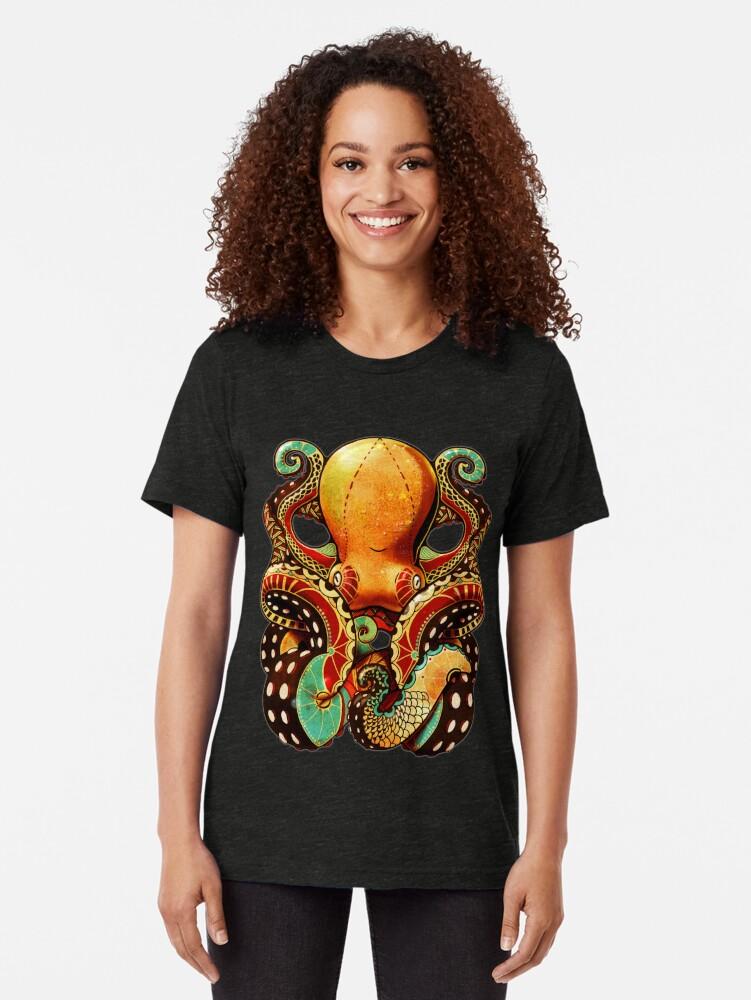 Alternative Ansicht von the octopus Vintage T-Shirt