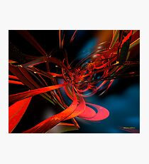 New Geometric Abstract Fx  Photographic Print