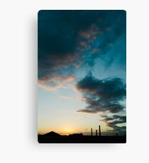 Sunset #1 Canvas Print